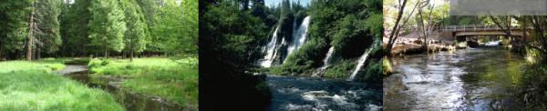 Burney Falls Banner