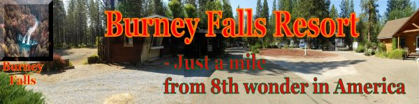 The New Burney Falls Resort Website.